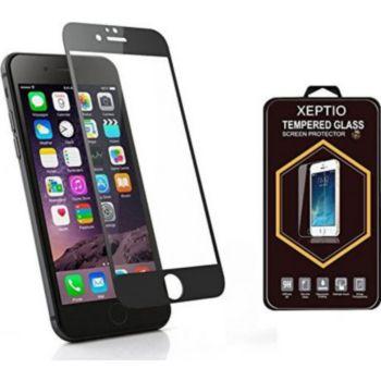 Xeptio APPLE iPhone 7 noir Full cover