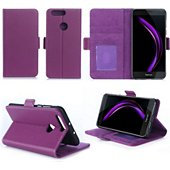 Coque Xeptio Honor 8 violet portefeuille
