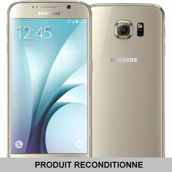 Samsung Galaxy S6 32 Go Or 				 			 			 			 				reconditionné