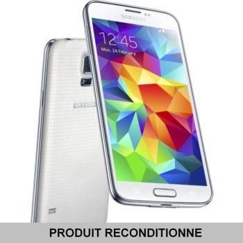 Samsung Galaxy S5 4G 16 Go Blanc     reconditionné