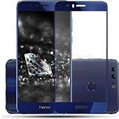 Protège écran Xeptio Honor 8 Full cover bleu