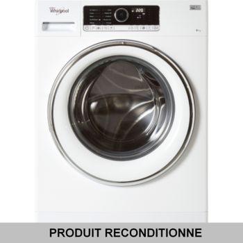 whirlpool fscr 80421 occasion comme neuf lave linge. Black Bedroom Furniture Sets. Home Design Ideas