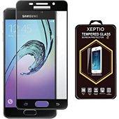 Protège écran Xeptio Samsung Galaxy A5 2017 verre trempé noir