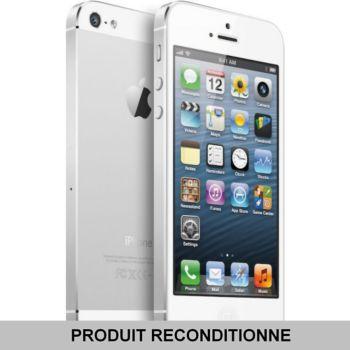 Apple iPhone 5 16 Go Blanc     reconditionné