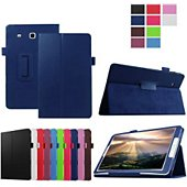 Etui Xeptio Samsung Galaxy Tab E 9.6 bleu