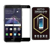 Protège écran Xeptio Huawei P8 LITE 2017 Full cover noir