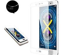 Protège écran Xeptio Huawei P8 LITE 2017 Full cover blanc