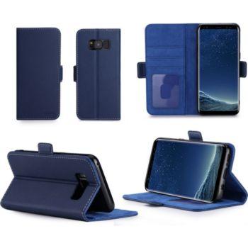 Xeptio Samsung Galaxy S8 Portefeuille bleue