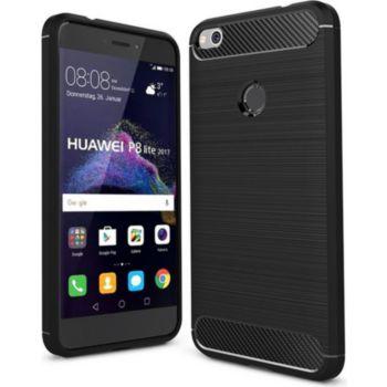 Xeptio Huawei P8 Lite 2017 carbone noire