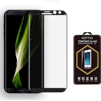 Xeptio Samsung Galaxy S8 PLUS FULL cover noir