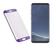 Protège écran Xeptio Samsung Galaxy S8 PLUS FULL Cover violet