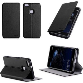Xeptio Etui Huawei P10 LITE noir