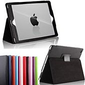 Etui Xeptio new Apple iPad 9.7 2017 noire Stand