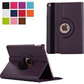 Etui Xeptio new Apple iPad 9.7 2017 rotative violet