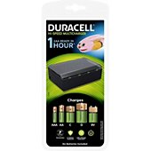 Chargeur camescope Duracell Chargeur de piles multi-formats AA, AAA