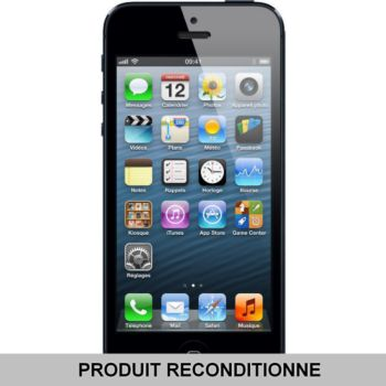 Apple iPhone 5 32 Go Noir 				 			 			 			 				reconditionné