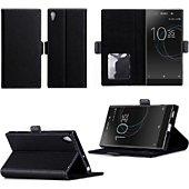Etui Xeptio Sony Xperia XA1 ULTRA noire