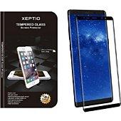 Protège écran Xeptio Samsung Galaxy Note 8 Full cover noir
