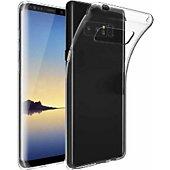 Coque Xeptio Samsung Galaxy Note 8 gel transparente