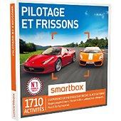 Coffret cadeau Smartbox Pilotage et frissons