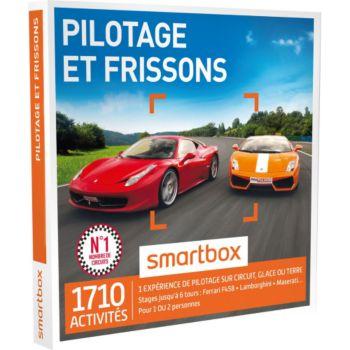 Smartbox Pilotage et frissons