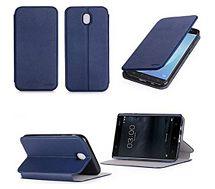 Etui Xeptio Nokia 6 4G  bleu Stand