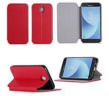 Etui Xeptio Nokia 6 4G  rouge Stand