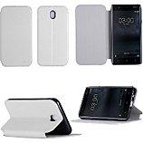 Etui Xeptio Nokia 5 4G  blanc Stand