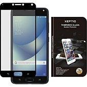 Protège écran Xeptio Asus Zenfone 4 MAX PLUS/PRO verre noir