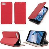 Etui Xeptio Asus Zenfone 4 MAX ZC520KL rouge stand