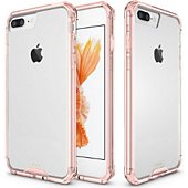 Coque Xeptio Apple iPhone 8 PLUS 5.5 bumper rose