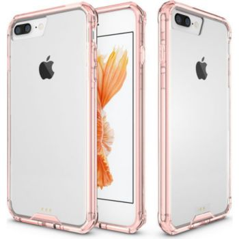 Xeptio Apple iPhone 8 PLUS 5.5 bumper rose