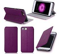 Etui Xeptio Apple iPhone 8 PLUS 5.5 violet stand