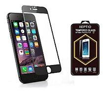 Protège écran Xeptio Apple iPhone 8 PLUS 5.5 full noir