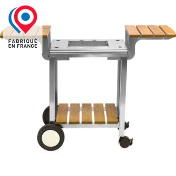 Planchaelec BOIS / INOX 600
