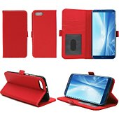 Etui Xeptio Honor View 10 portefeuille rouge