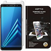Protège écran Xeptio Samsung Galaxy A8 2018 verre trempé