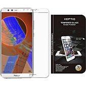 Protège écran Xeptio Honor 9 Lite full cover blanc