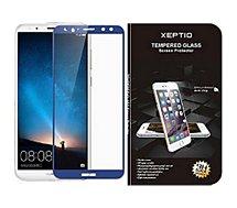 Protège écran Xeptio  Samsung Galaxy S9 verre trempé bleu