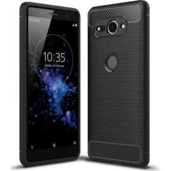 Xeptio Sony Xperia XZ2 carbone noir