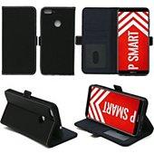 Housse Xeptio Huawei P Smart pochette noire