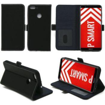 Xeptio Huawei P Smart pochette noire