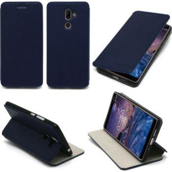 Xeptio Nokia 7 Plus Etui bleu Slim
