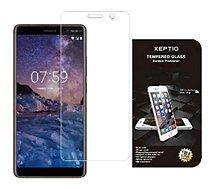 Protège écran Xeptio Nokia 7 Plus verre trempé