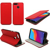 Housse Xeptio Honor 7C Etui rouge