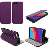 Housse Xeptio Honor 7C Etui violet