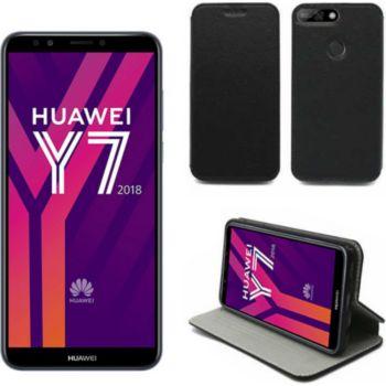 Xeptio Huawei Y7 2018 Etui noir