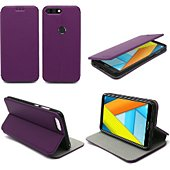 Housse Xeptio Honor 7A Etui violet