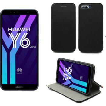 Xeptio Huawei Y6 2018 Etui noir
