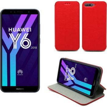 Xeptio Huawei Y6 2018 Etui rouge